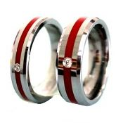 firefighter jewelry - Firefighter Wedding Rings