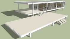 Featured 3D Model of Farnsworth House