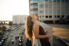 Memphis, Tennessee Senior Photographer | Cassie Cook Photography   urban-rooftop-senior-session-downtown-city-senior-pictures