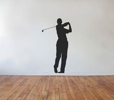 Fore Golfer Golfing Vinyl Wall Decal by jamesdupree on Etsy, $29.99