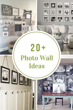 Photo Wall Ideas and Inspiration