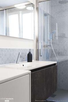 Salle de bain - Appartement industriel chic & moderne 55m2 - 75010 Paris, Paris, France, Espaces à Rêver