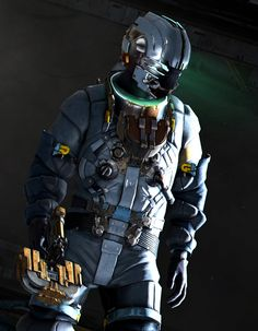 Isaac Clarke from 'Dead Space 3'.