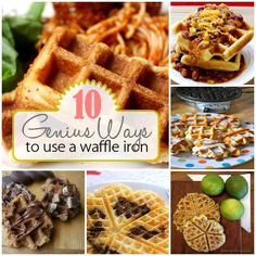 10 Genius Ways to Use a Waffle Iron | Spoonful)  (Note:  Not Just for Breakfast Anymore)