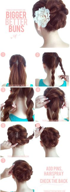 Double Twist Bun
