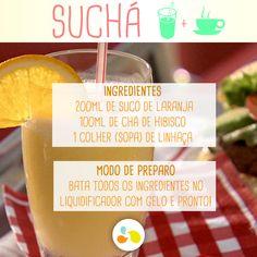 Suchá de laranja e hibisco http://maisequilibrio.com.br/nutricao/bebidas-que-emagrecem-2-1-1-780.html