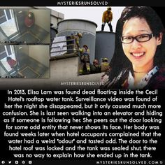 Creepy Facts, Creepy Stuff, Fun Facts, Short Creepy Stories, True Horror Stories, Elisa Lam, Weird But True, Investigation Discovery, Mysteries Of The World