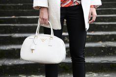 White Prada Bag  www.ireneccloset.com