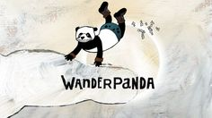 WANDERPANDA  Short movie by Stini Sebald & Karen Strempel 2D Animation  based on a story from Funny van Dannen