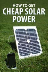 """This has a """"how to build your own solar panel"""" set of instructions, I may have to try this."""