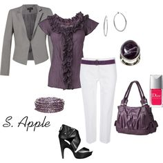 """For work..."" by sapple324 on Polyvore"