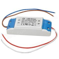 Brand: N/A; Model: GKDY14; Material: PE materials; Color: White + blue; Quantity: 1; Power: 36 W; Color BIN: No; Rate Voltage: AC 85~277 V; Connector Type: Cable connection; Application: Power supply and driver for 18~36 x 1W LED; Features: Input 85~277V, 50/60Hz, 0.5A Max; Output: 50~120V, 350mA Max; Other: Suitable for all kinds of lighting emitters; With output open-circuit operation and output short-circuit protection; Packing List: 1 x External power supply driver; http://j.mp/1lkm9Ht
