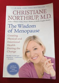 Cr Christine Northrup book The Wisdom of Menopause. The must read book for every woman! Discover our 5 ways to helping to control your weight in midlife #happy #healthy #living