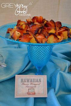 Hawaiian Bacon Wrapped Pineapple