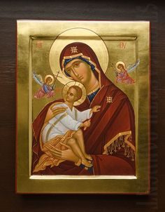 A painted icon of the Mother of God of the Passion  Order here: https://catalog.obitel-minsk.com/icon-mother-of-god-of-the-passion-imp-05-07-5.html   #CatalogOfGoodDeeds #Orthodox #Iconography Αγιογραφία Iconography Иконография