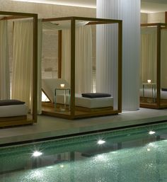 SOON:):)Luxury spa and fitness center in London - Bulgari Hotel Resort