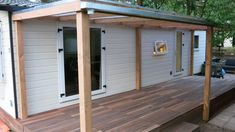 Tiny House, Garage Doors, Shed, Deck, Outdoor Structures, Google, Outdoor Decor, Home Decor, Decoration Home