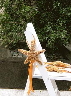 Beach Wedding Decor  Large Starfish Chair or by SeashellCollection, $12.00