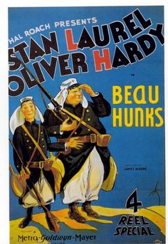 laurel and hardy beau hunks poster - Google Search