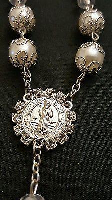 Pulsera De Protección estilo rosario De San Benito