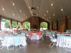#outdoor wedding reception at Smithview Pavilion
