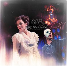Love Never Dies--Phantom of the Opera sequel playing in London & Australia=would LOVE to go see it, has beautiful music & score--YouTube it!!