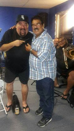 Pedro Brull and Sammy Gonzalez. Salsa Musica, April 13, Puerto Rico, Classic, Photography, Fashion, Challenges, Saints, Orchestra