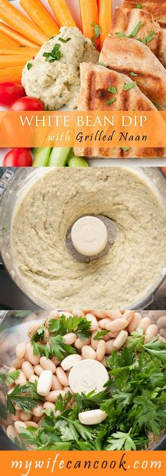 This White Bean Dip is vegan, easy to make, and versatile. Add the right blend of fresh herbs of spices to suit your tastes. Goes well on almost anything.