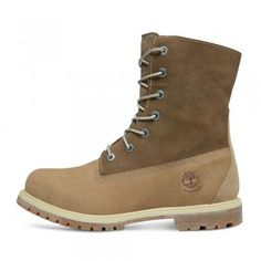 8091fe04e4 Timberland 8330R W/L Authentics Teddy Fleece Lined Boots Taupe Herren  Stiefel, Damenschuhe,