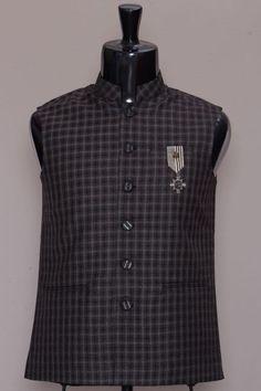 a243126e35c Black Italian Waistcoat-VK1774