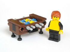 Foosball Table: A LEGO® creation by Michael Jasper : MOCpages.com