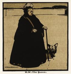 Sir William Nicholson, from Twelve Portraits (First Series). H.M. The Queen, 1899.