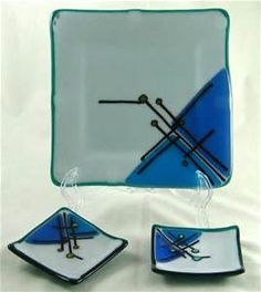 """Omega Glass: Fused Glass Art that's Ridiculously Cool: My """"Starry ..."""