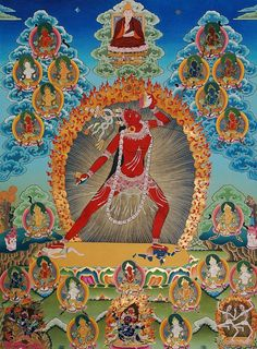 Vajra Yogini with 21 Tara and Je Tsongkhapa