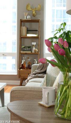 Condo Makeover Living Room REVEAL - DIY Playbook