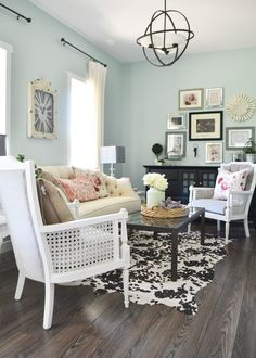 To the left of the entry is our formal sitting room. *** More info could be found at the image url. #homedecorideas