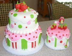 strawberry shortcake-cake!
