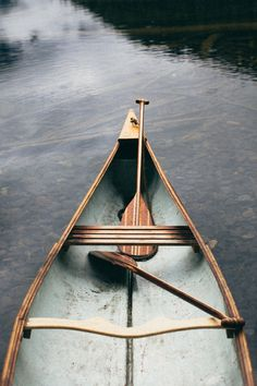 gunflint paddles by Sanborn Canoe Co | benchandcompass.tumblr.com