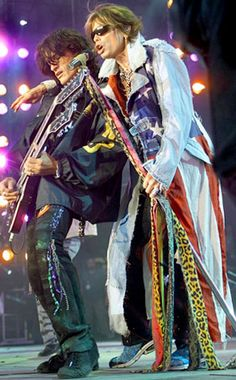 Aerosmith on tour