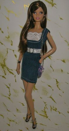 Barbie Tim Gunn Barbie Model, Barbie Style, Barbie And Ken, Barbie Dolls, Tim Gunn, Barbie Clothes, Beautiful Dolls, Fashion Dolls, Celebrity Style