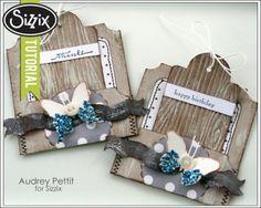 Sizzix Tutorial | Big Ticket Pocketsby Audrey Pettit