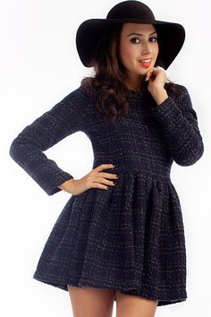 Fantásticos vestidos de invierno para señoritas