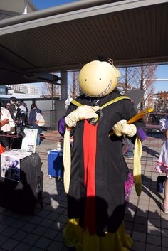 Comiket 89 à Tokyo : cosplay de Korosensei d'Assassination Classroom | La vie du riz