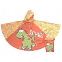 Kinder regenponcho dinosaurus