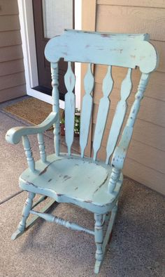 Shabby Chic Rocking Chair - Rustic Home Office Furniture Check more at http://invisifile.com/shabby-chic-rocking-chair/
