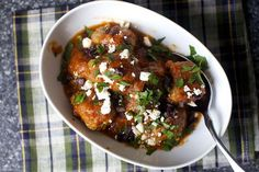 lamb meatballs with feta, olives and lemon by smitten, via Flickr