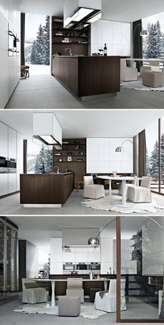 Twelve Kitchen by Carlo Colombo from Varenna Poliform