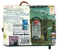 Art journal and notes