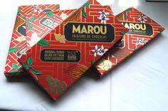 Tableta de chocolate oscuro 70% cacao. [Marou]