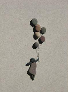 Pebble Art by Sharon Nowlan painting media Pebble Stone, Pebble Art, Stone Art, Pebble Pictures, Stone Pictures, Nature Pictures, Stone Crafts, Rock Crafts, Art Crafts
